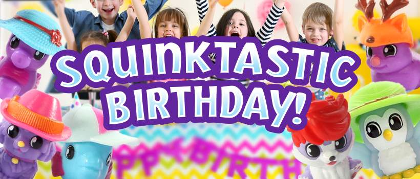 Squinkies Kids Party Ideas